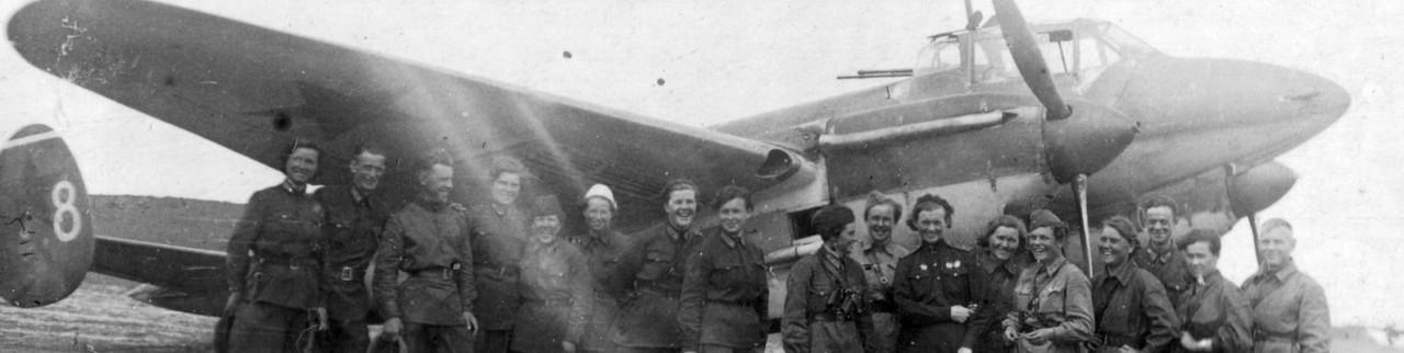 Катастрофа Марины Расковой и гибель 587 бап при перелёте на фронт