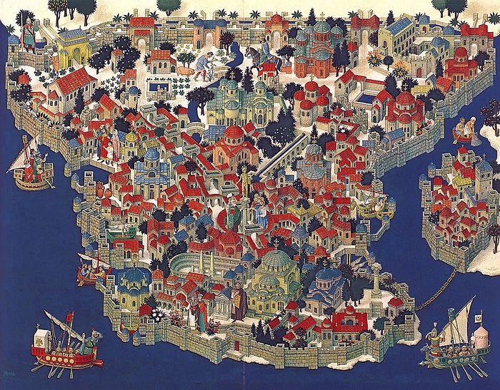 Кто и зачем интересовался историей Византийской империи?
