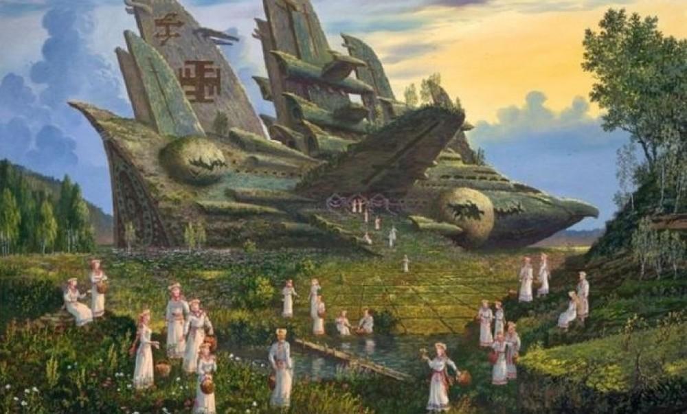 Технологический уровень северных богов в Махабхарате