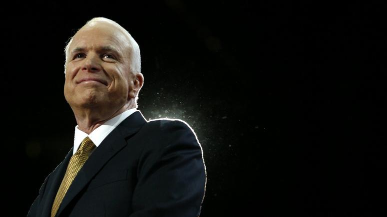 """""""Американцы-благословение для человечества"""": Опубликовано прощальное послание Маккейна"""