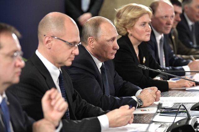 Путин призвал поддержать молодые таланты в сфере культуры