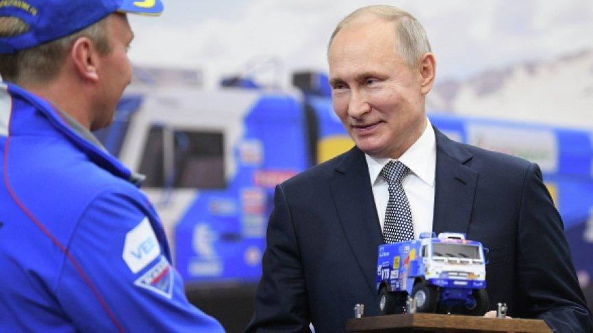 Путин поздравил «КамАЗ-масте…