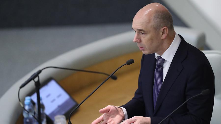 Силуанов рассказал о росте доходов россиян на 3%