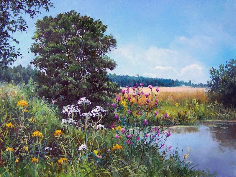 Душистое дыхание лета в пейзажах Елены Прокушевой