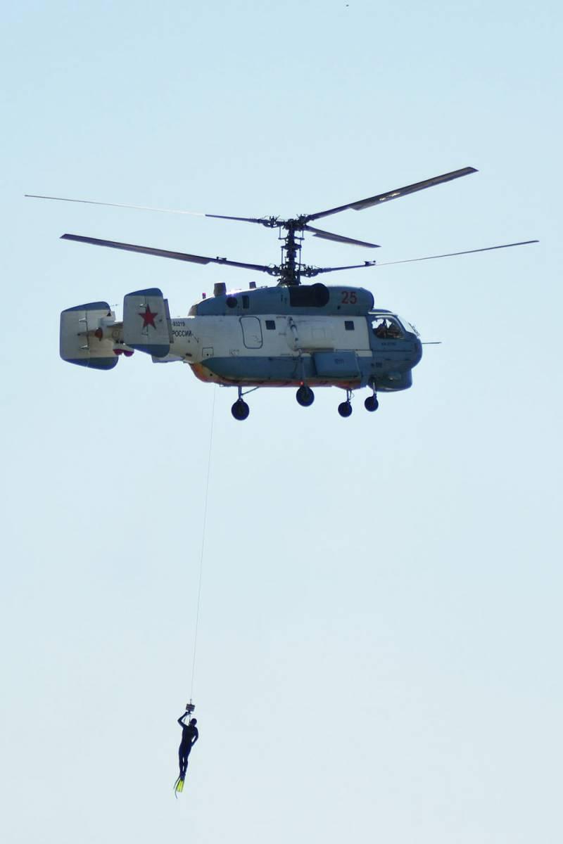 Вертолёты авиации ВМФ. Новые и обновлённые
