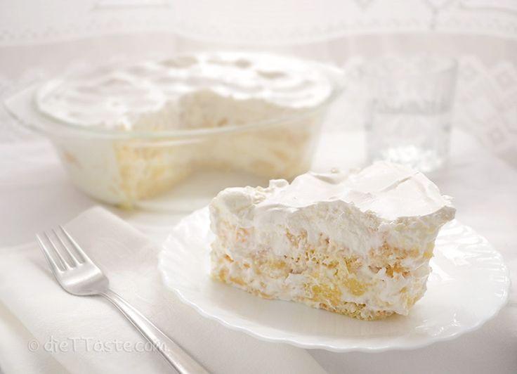 Фруктовый торт а-ля тирамису: нежный с приятной кислинкой!