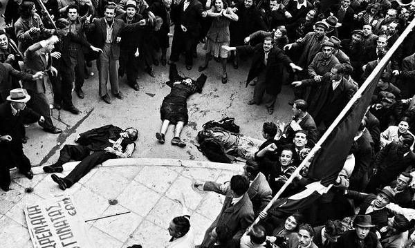 Афины 1944: грязный секрет Великобритании
