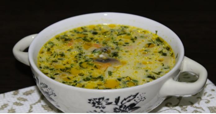 Самый вкусный грибной сливочный суп