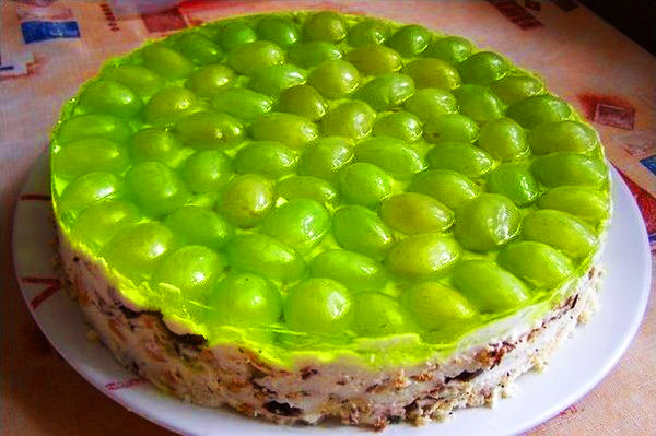 Торт «Виноградинка»