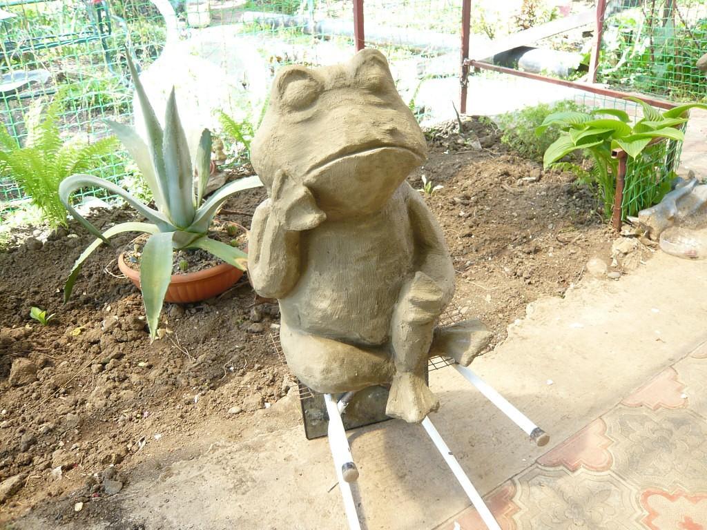 Сделать фигурки в сад своими руками 102