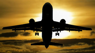 Перед исчезновением самолета…