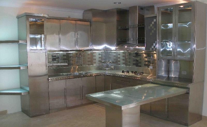 Кухонные столешницы из нержавеющей стали