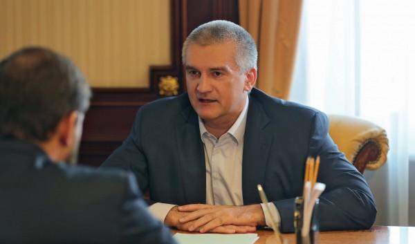 Сергей Аксёнов сказал, что к…
