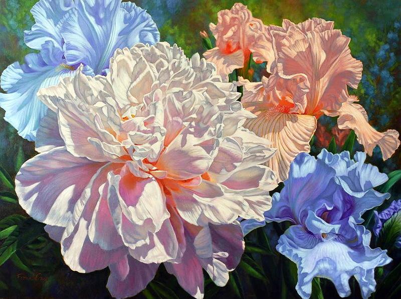 Праздник цветов, художник Fiona Craig