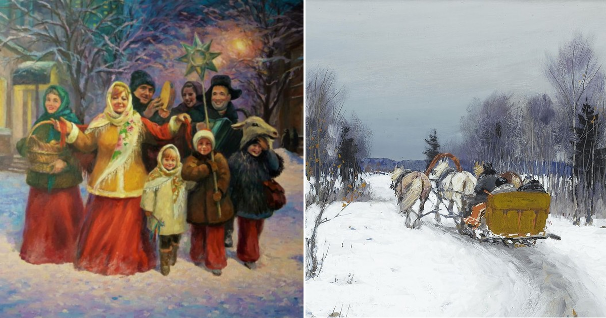 Что делали русские крестьяне зимой?