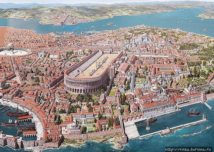 Реконструкция Константино