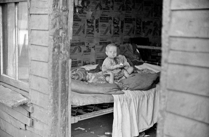 Америка  и дети в исторических фотографиях