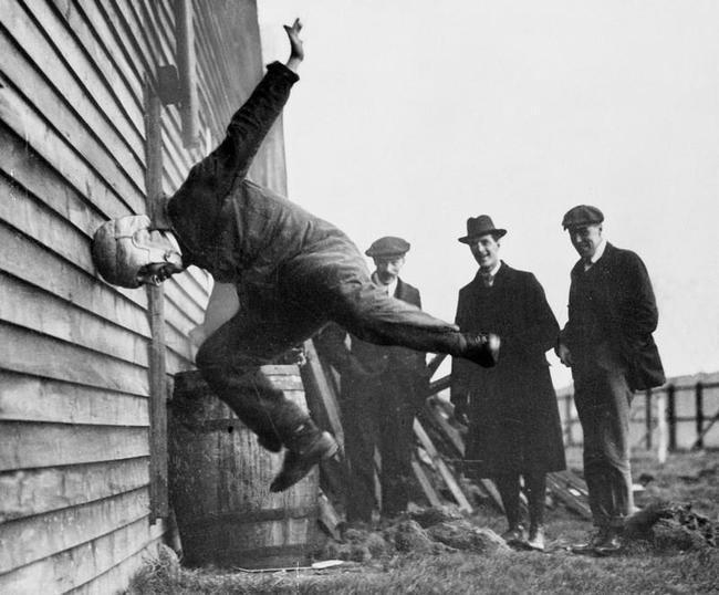 Странные исторические фотографии