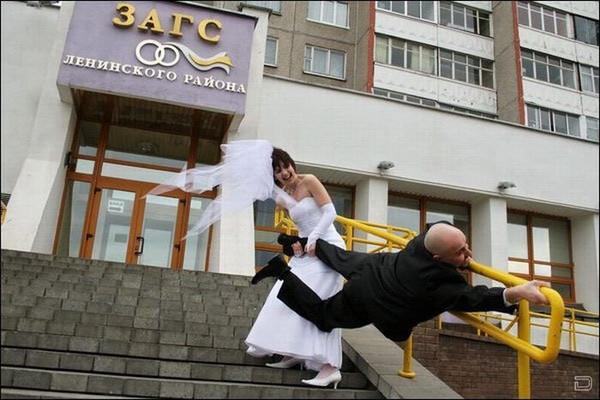 молодожены)))
