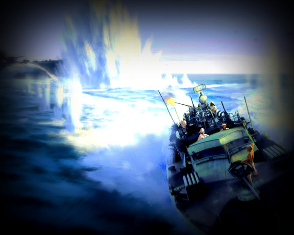 О немецких катерах-призраках…