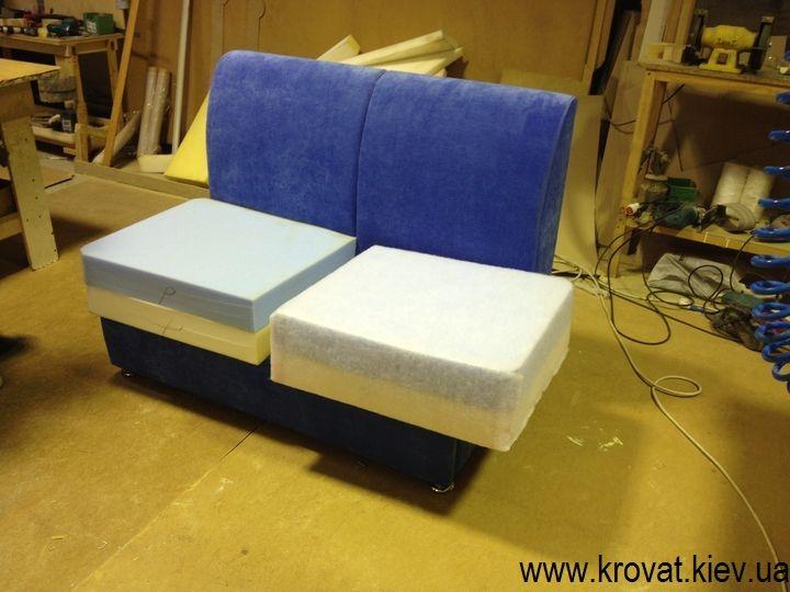 Раскладной диван в микроавтобус своими руками
