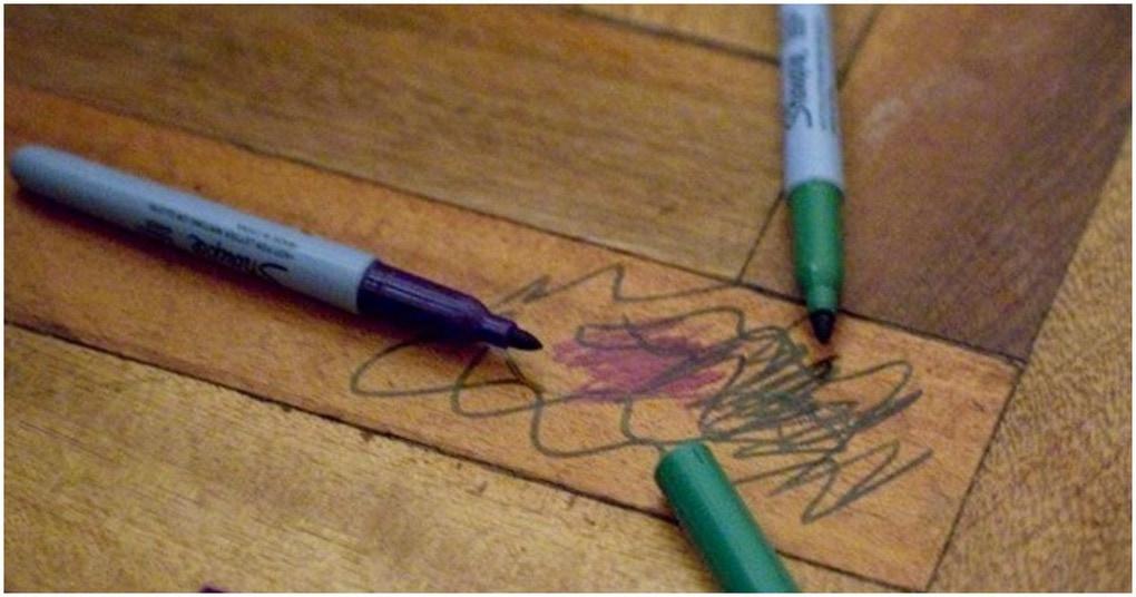 Картинки по запроÑу ОчиÑтите дерево от перманентного маркера за 5 минут? Это реально