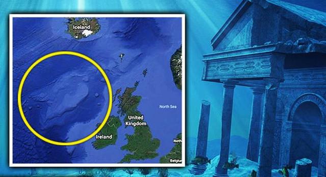 Атлантиду обнаружили вблизи Ирландии