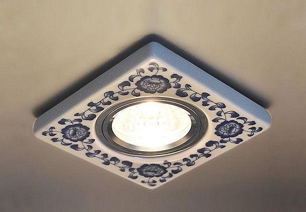 потолочные светильники для ванной комнаты фото 4