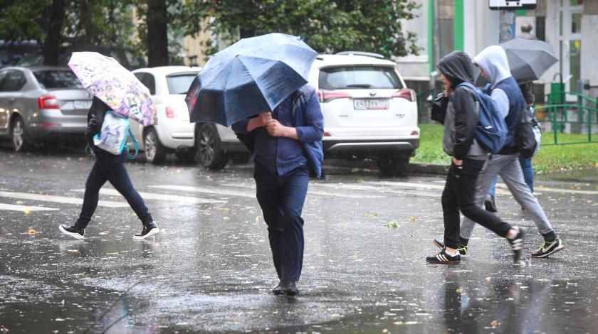 Погода в Москве испортилась окончательно