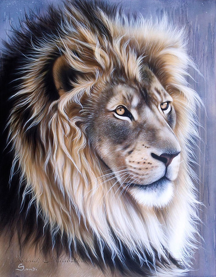Awesome realistic drawings of animals 13