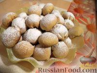 Фото приготовления рецепта: Шарики на кефире с ореховой начинкой - шаг №16