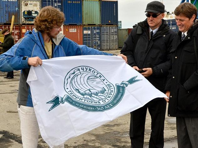 Американец, добравшийся на лодке до Чукотки, прошел курс лечения в Анадыре