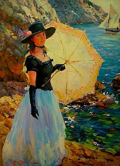 Портретная живопись от Сергея Свиридова.