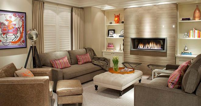 Декор гостиной — свежие идеи для оформления интерьера
