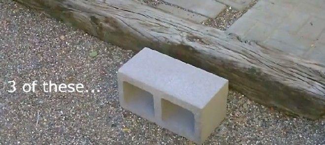 Чтобы собрать печку необходимы только строительные блоки