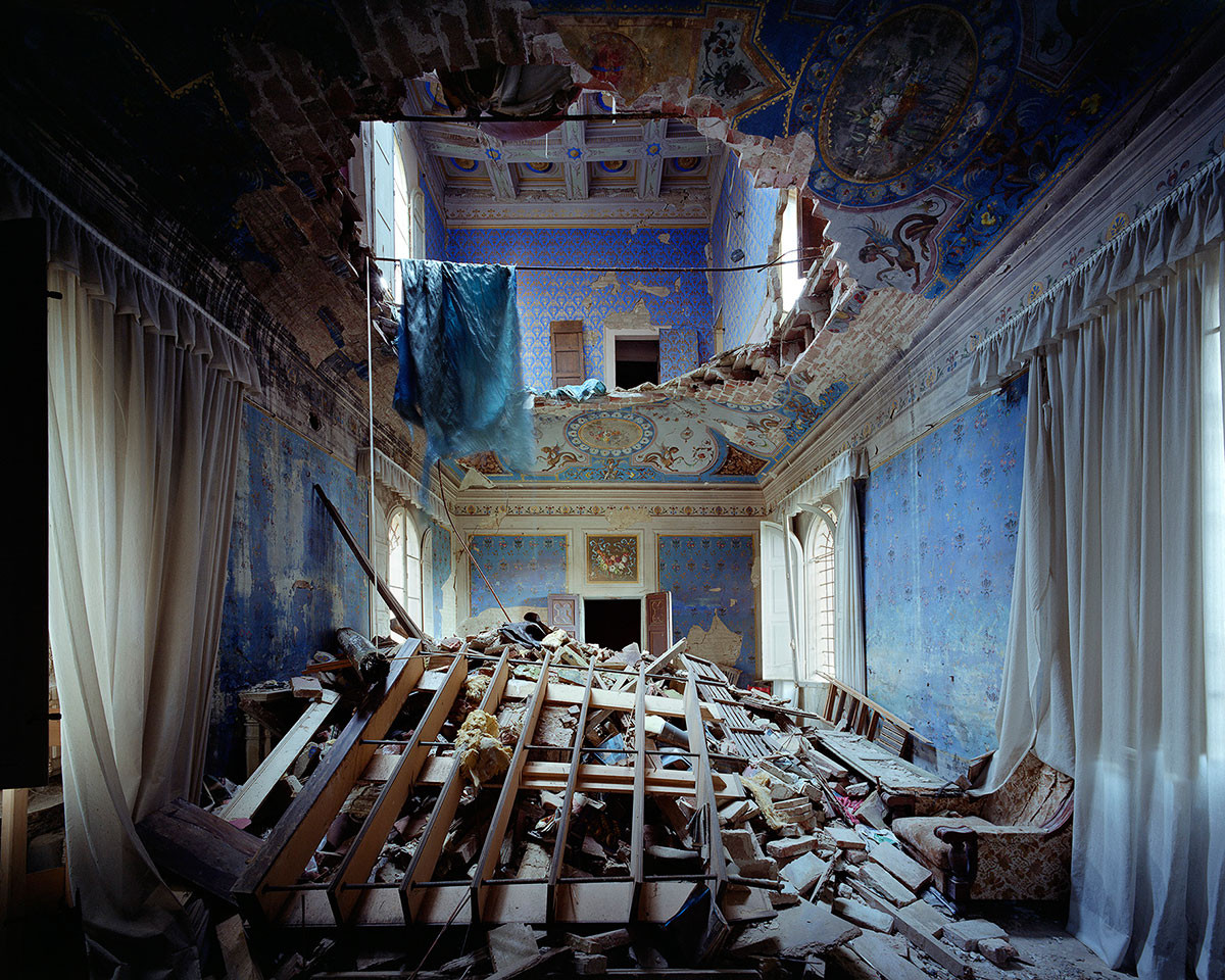 Великолепие заброшенных итальянских вилл