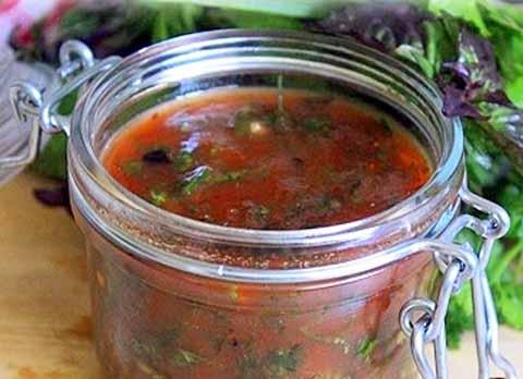 Соус из томатного сока к шашлыку