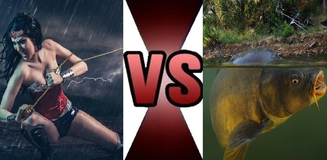Женщина - Рыбак VS Золотой Сазан (Хорошая рыбалка весной)