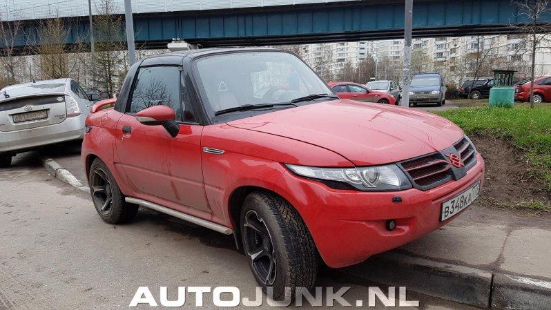 Компактный внедорожник Suzuki переделанный под Range Rover evoque, range rover, suzuki, самоделка
