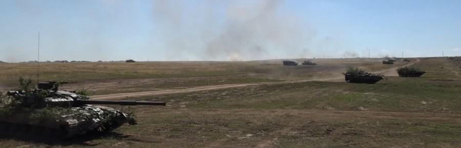 Тактические учения 2-го армейского корпуса ЛНР