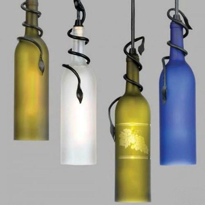 Оригинальные светильники своими руками сделать