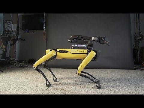 UpTown Spot — робопёс, танцующий фанк