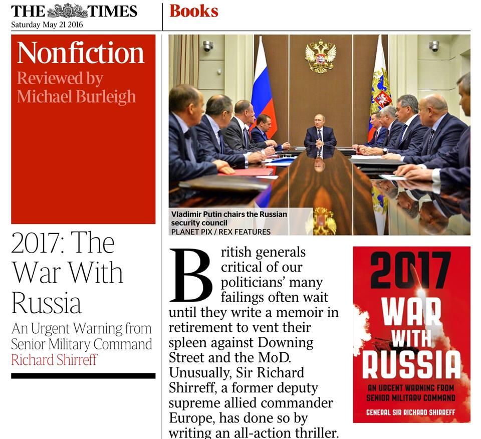 Это настоящая паранойя! В западных СМИ все забито «Войной с Россией 2017» — Владимир Корнилов