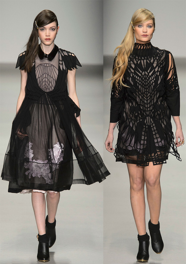 Мода черные платья