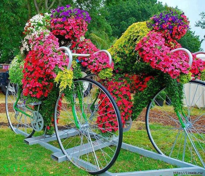 Вторая жизнь старого велосипеда