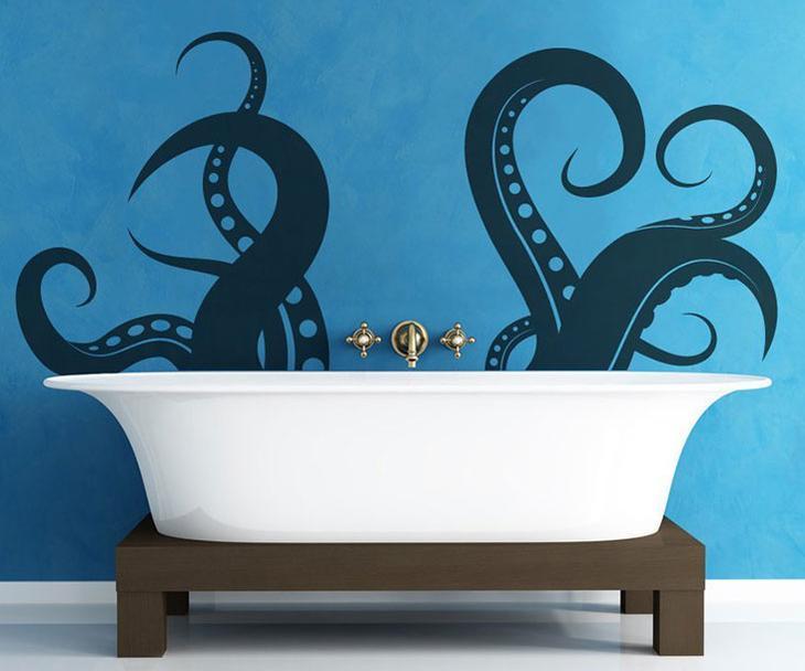 Шаблон трафарета для ванной своими руками