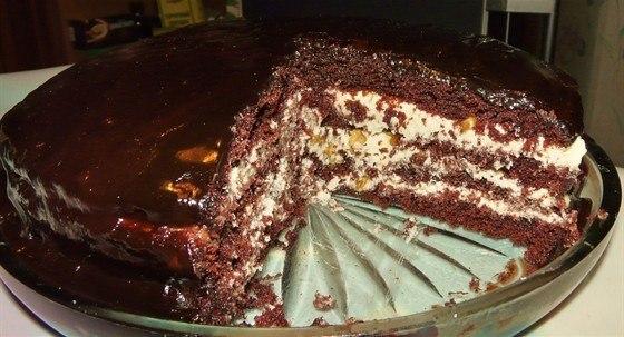 Торт «Прага» по старинному рецепту!