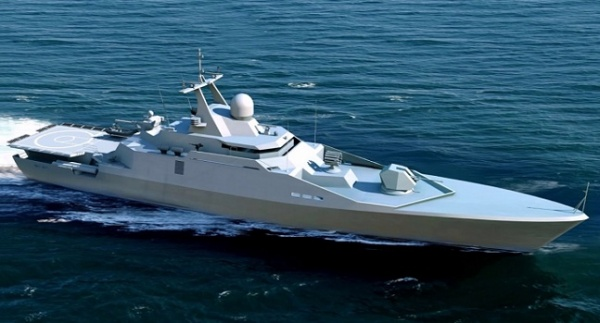 НаЛадоге начались испытания нового ракетного катера «Ураган»