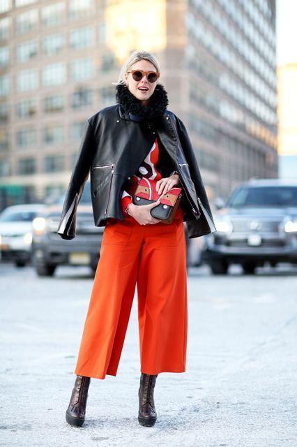 Укороченные брюки: носим и зимой