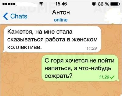 СМСки о том, как сложно мужчинам и женщинам понять друг друга. Смех до слез прямо!